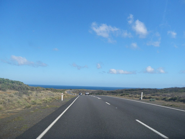 The Australian Great Ocean Road